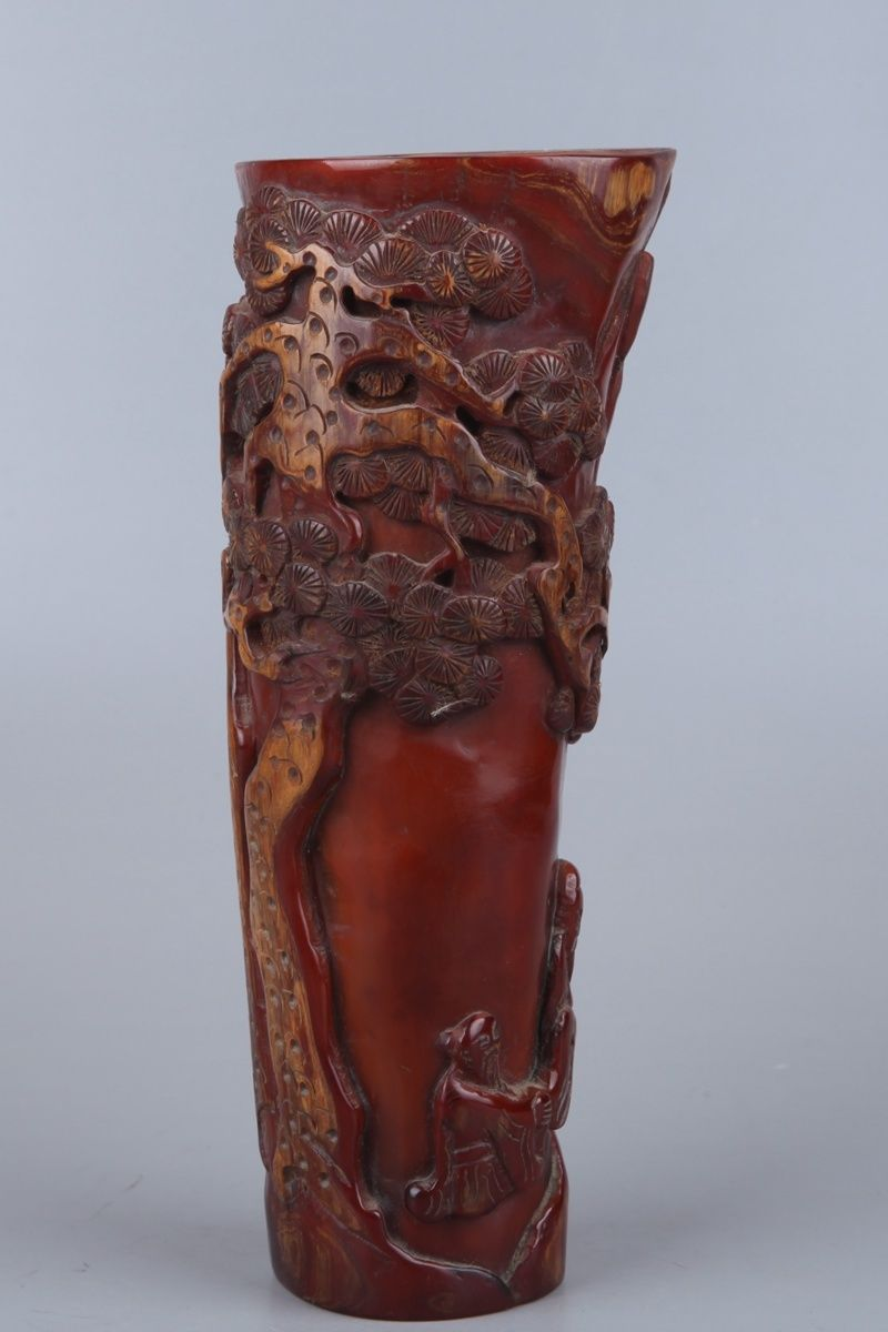 chinese ox horn cup3
