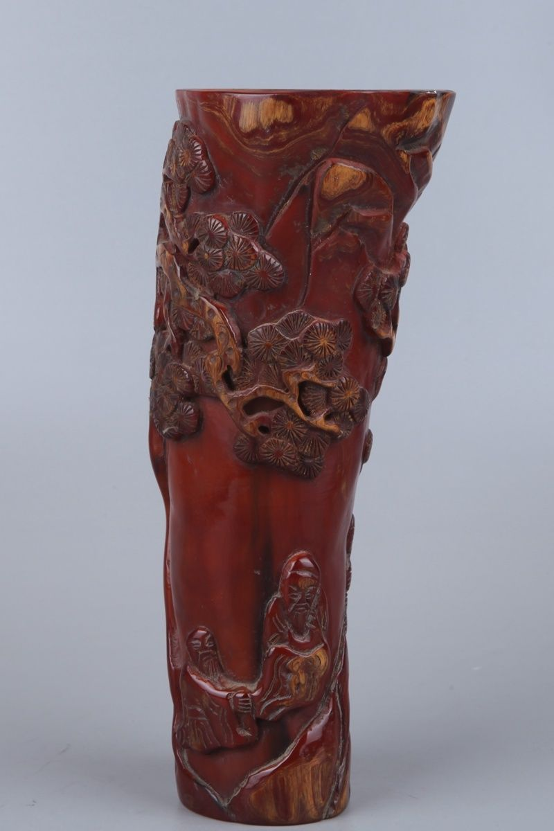 chinese ox horn cup5